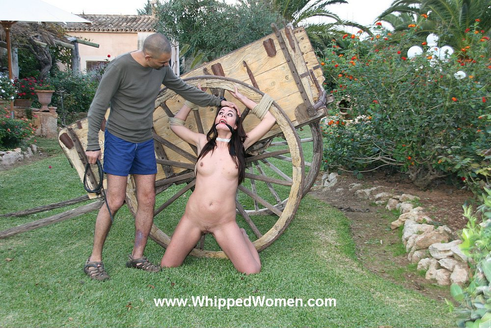 sharing my wife with another man #outdoors #PublicNudity #bdsm #bound #tied #rope #nude #brunette #MasterSlave #submission #brunette#longhair #boobs #SmoothPussy #pussy #hot