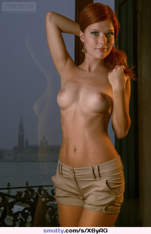shaved gorgeous busty blonde babe sabrina nichole with perfect breasts from playboy wearing pantyhose in bed