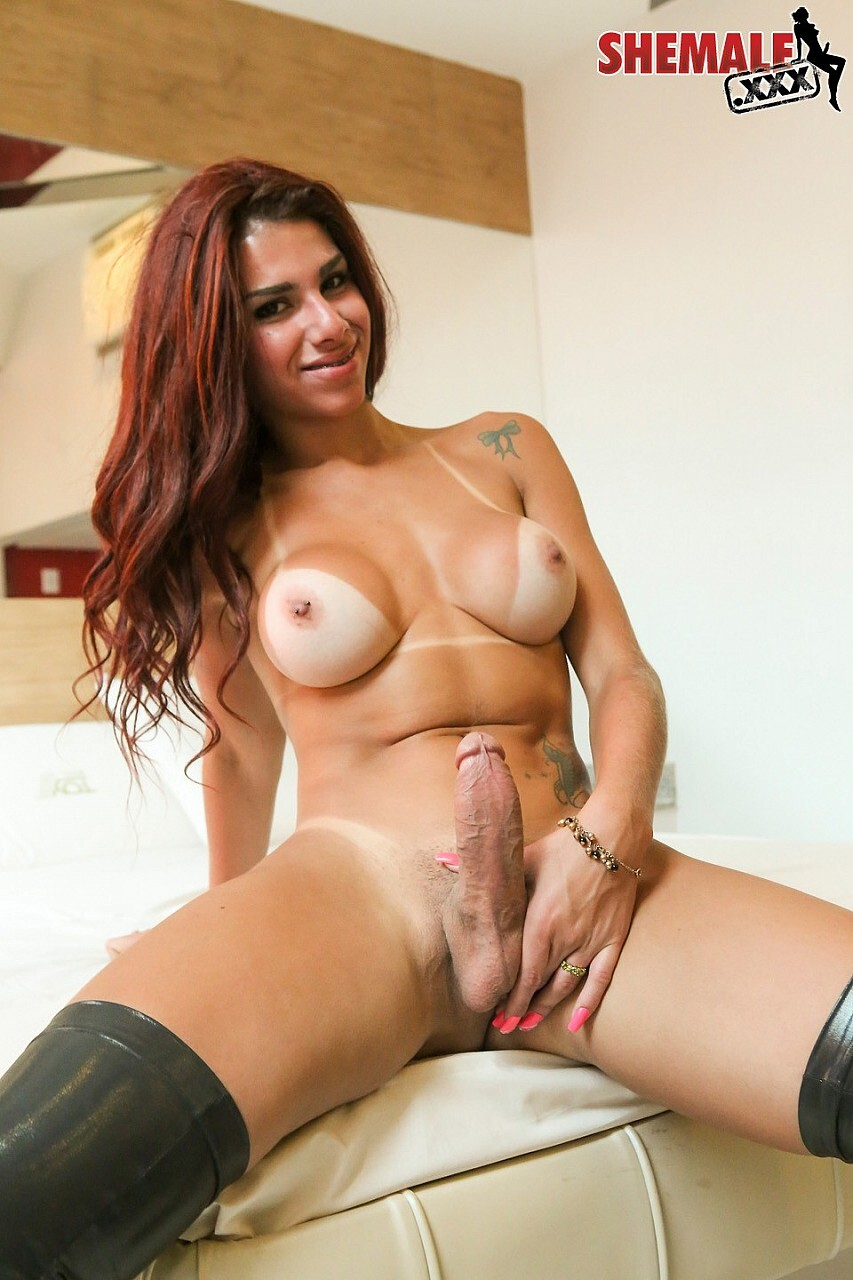 babe gets fucked with electro strap on cock by lesbian domme
